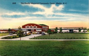 North Carolina Shelby The Shelby Memorial Community Center