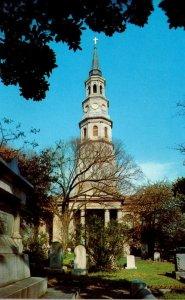South Carolina Charleston St Phillip's Church and Grave Of John C Calhoun