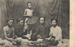 Cochinchine Vietnam Tonkin Hanoi Le Repas 05.87