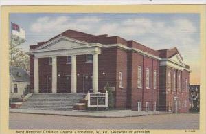 West Virginia Charleston Boyd Memorial Christian Chruch