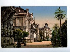 206429 SWITZERLAND LUZERN Palace Hotel Kursaal Old postcard