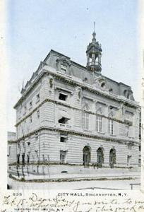 NY - Binghamton, City Hall