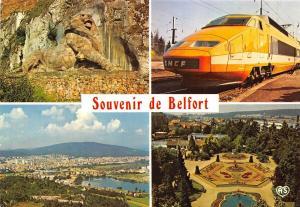 BF37884 le lyon tgv belfort  train railway chemin de fer