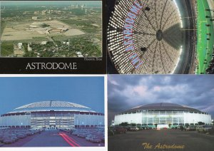 Houston Astrodome Astros Turf Invention NFL Baseball 4x USA TX Postcard s