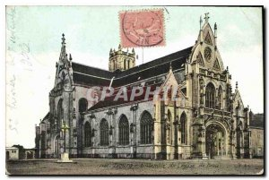 Old Postcard Bourg Ensemble of the Church of Brou