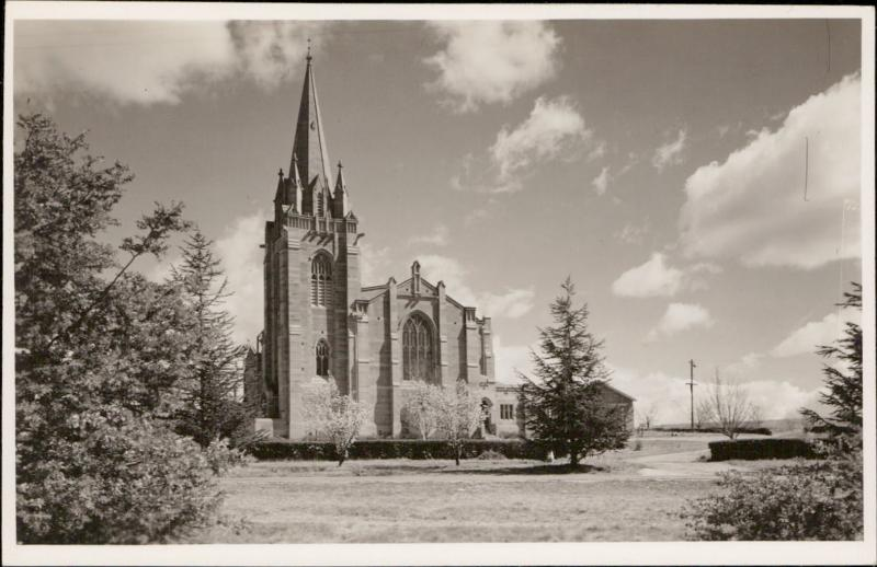 St Andrew's Presbyterian Church Canberra Australia real photo