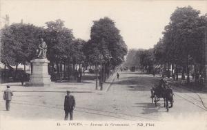 TOURS, Avenue de Grammont, Indre et Loire, France, 00-10s