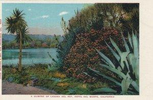 MONTEREY, California, 1900-10s; Glimpse of Laguna Del Rey, Hotel Del Monte
