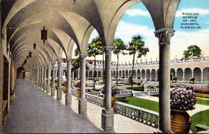 Florida Sarasota Ringling Art Museum Inner Court