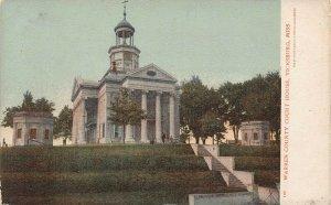 LP11 Vicksburg Mississippi Postcard Warren County Court House
