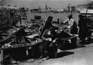 France Marseille Les Pescadous Harbour Boats Postcard