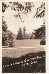 RP: DAVENPORT , Iowa , 1942 ; Campus , Iowa State College