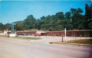 Portsmouth Ohio~Motel Ett Mar on Randall Ave~1956 Postcard