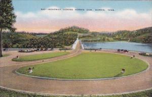 Roadway Across Norris Dam Norris Tennessee