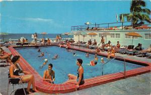 Miami Beach Florida~Brazil Hotel & Pool Cabana Club~Bathing Beauty~1969 Pc