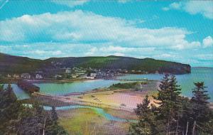 Canada New Brunswick Alma The Covered Bridge At Alma 1967