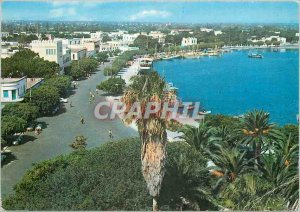 Modern Postcard Island of Cos Partial View of the City and the Port Riviera K...
