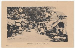 Benin; Dahomey, A Quarter Of Porto Novo PPC, By ER, Unused, c 1920's
