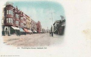 OAKLAND , California, 1901-07 ; Washington Street