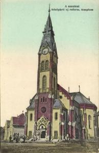 hungary, SZENTES, Reform. Templom, Reformed Church (1910s)