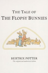 The Tale Of The Flopsy Bunnies Beatrix Potter Book Postcard