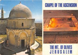Israel Old Vintage Antique Post Card Chapel of the Ascension Mt Olives, Jerus...