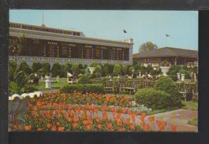 Clubhouse Garden,Churchill Downs,Louisville,KY Postcard