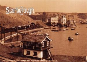 NEW Vintage Repro Scarborough Yorkshire Postcard North Bay Pleasure Gardens SC17