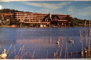 1973 Snow Lake Lodge Hotel In Mt. Snow Vermont VT Postcard - Mount - y2800