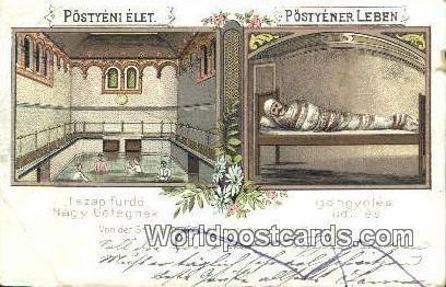 Iszap furdo Postyeni Austria 1902