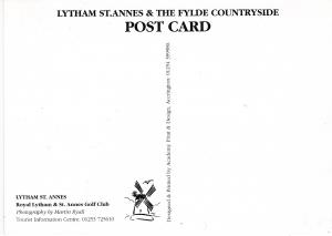 Post Card Lancashire Lytham St Annes Royal Lytham St Annes Golf Club