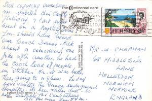 Vintage 1974 Jersey Postcard Elizabeth Castle, Channel Islands 54B