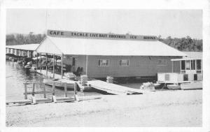Cape Fair Restaurant Sports Shop Missouri 1950s Postcard Kaeser Blair 12351