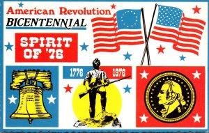 American Revolution Bicentennial Spirit Of '76