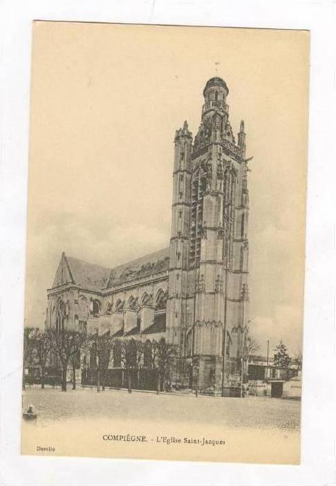 Compiègne , France , 00-10s   L'Eglise Saint-Jacques