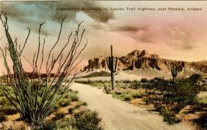 AZ - Phoenix. Superstition Mountains