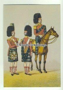 su2671 - 93rd Highlanders Review 1834, Artist - Lieutenant Haliday - postcard