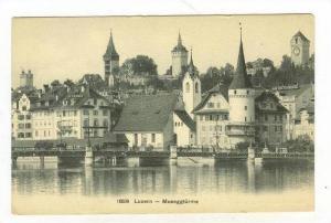 Museggturme, Luzern, Switzerland, 1900-1910s