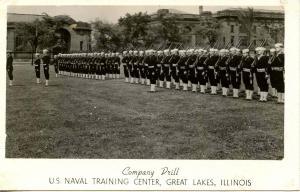 IL - Great Lakes. U. S. Naval Training Center    *RPPC