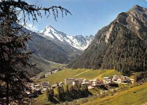 Switzerland Samnaun Schweiz mit Muttler Berg Mountains Landscape