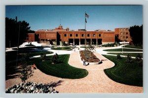 Fargo ND- North Dakota, North Dakota State University, Union,Chrome Postcard