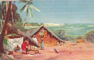 Typical scene of Dutch Colony, Netherland Antilles Island, 40-60s