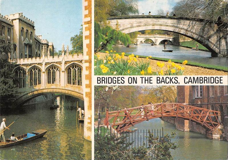 uk5710 bridges on the back cambridge uk