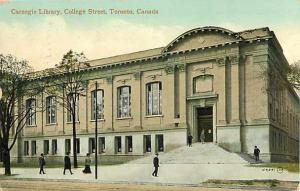 D/B Carnegie Library College St Toronto Ontario ON Canada ??