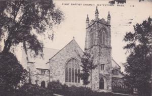 WATERTOWN, Massachusetts, PU-1936; Baptist Church
