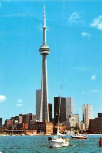 Canada Toronto CN Tower Tour Yacht Bateaux