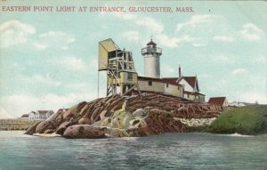 GLOUCESTER , Massachusetts , 1910 ; Eastern Point Lighthouse #2