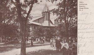 OCEAN GROVE, New Jersey, PU-1907; Auditorium Exterior