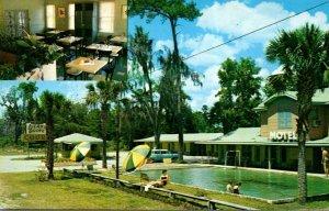 Georgia Waverly Island Grove Motel & Restaurant 1959
