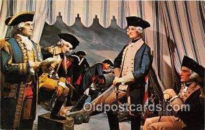 General Washington, Wax Museum Miami, Florida Patriotic Unused